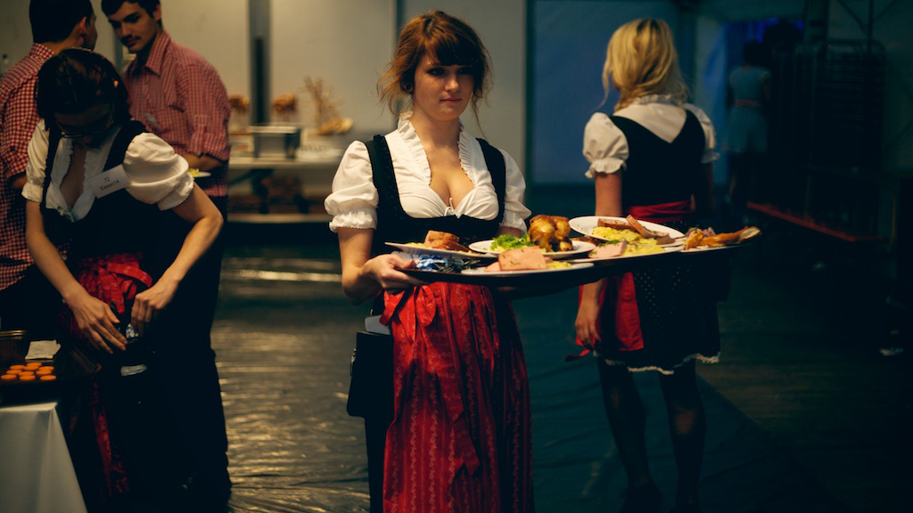 Festzelt Kellner Essen m/w